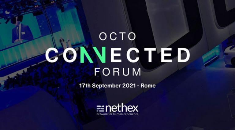 Nethex tra gli sponsor dell'OCTO Connected Forum, l'evento che riunisce i leader di settore per scrivere il futuro della mobilità connessa